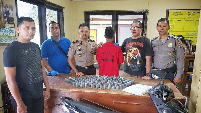 Personel Polsek Kuta Alam Ciduk Pencuri 124 Timah Pemberat Pukat, Begini Kronologis Penangkapannya