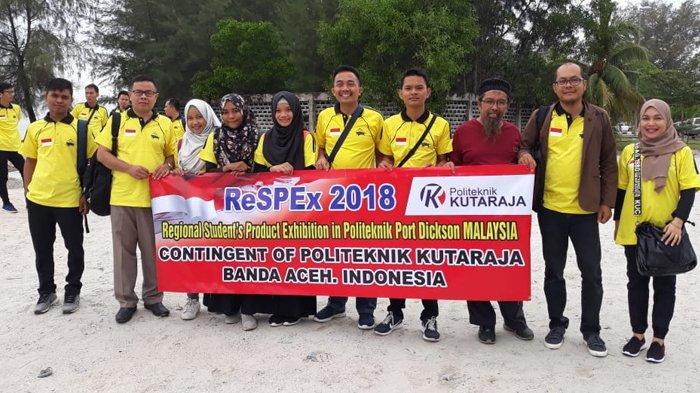 Mahasiswa Politeknik Kutaraja Ikut Kompetisi Internasional di Malaysia