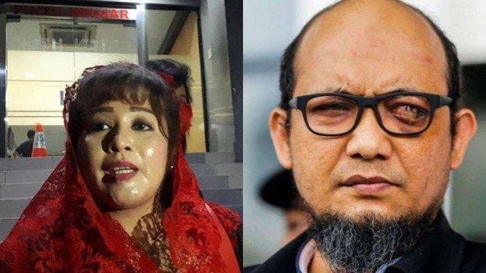 Dewi Tanjung Kaget Polisi Penyerang Novel Baswedan Ditangkap, Tagar Tangkap Dewi Tanjung Trending