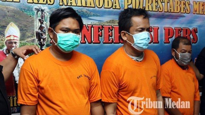 Polisi Gagalkan Peredaran Sabu 15 Kg dan 20 Ribu Pil Ekstasi, Tiga Tersangka Ditangkap di Medan