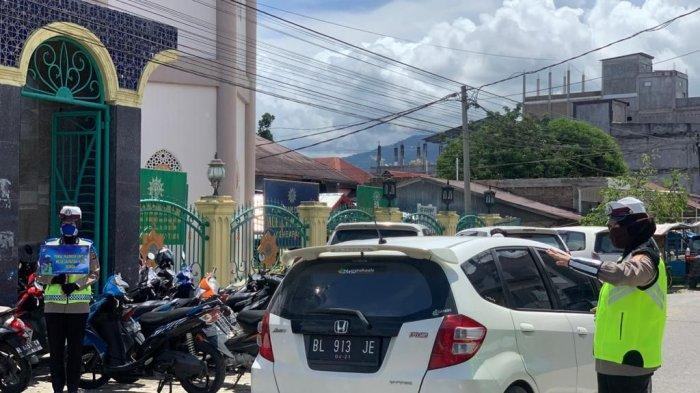 Ditlantas Polda Aceh Siagakan Polisi Wanita di Masjid di Banda Aceh dan Aceh Besar, Ini Tujuannya