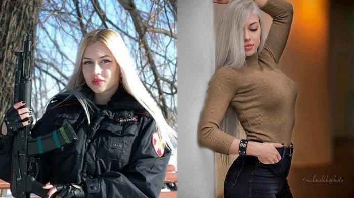 Ana Khramtsova Tentara Pasukan Elit Pengawal Vladimir Putin, Dipecat dari Militer Karena Hal Ini