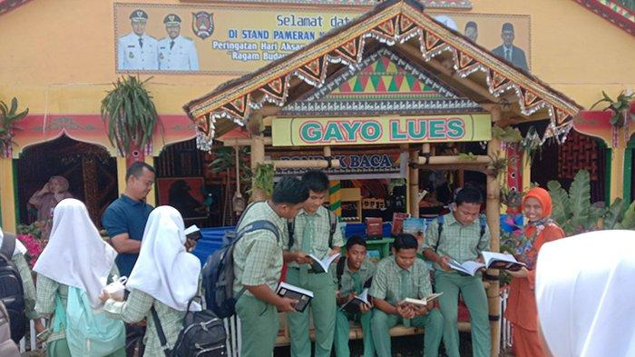 Disdik Gayo Lues Sediakan Kamus Bahasa Gayo di Stan HAI 2019