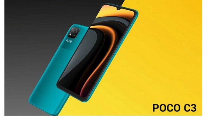 Ponsel Game Poco C3 Meluncur di India, BerhargaRp 1 Jutaan