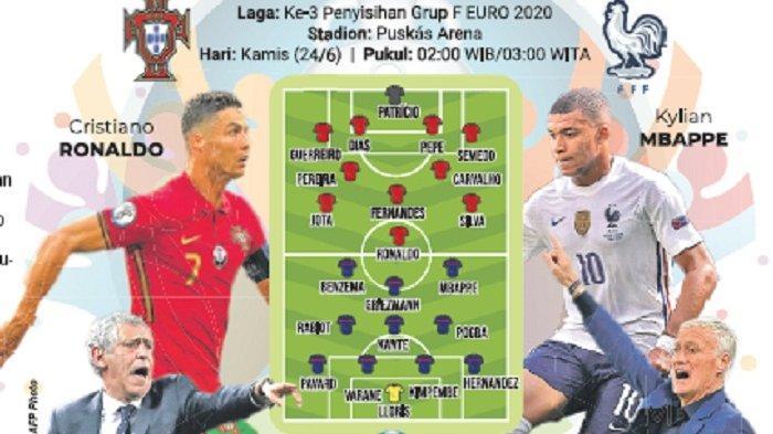 Portugal vs Prancis, Ulangan Final Euro 2016