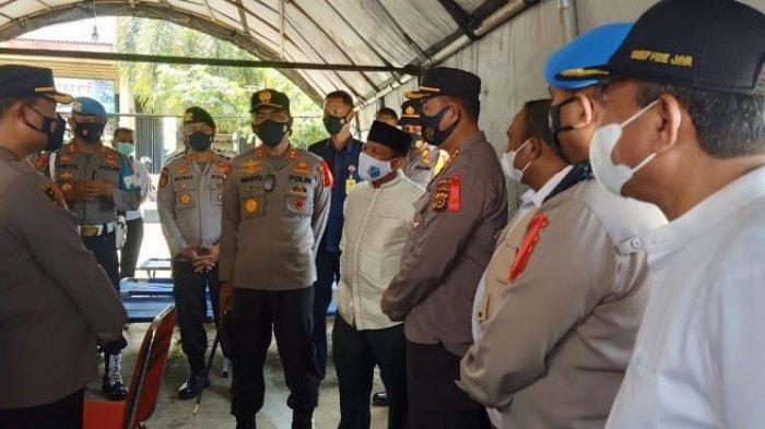 Kapolda Aceh Pertegas Larangan Mudik, Pos Ketupat Jadi Posko Perlakuan Pembatasan Kegiatan Manusia