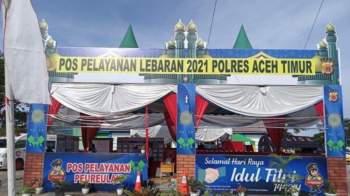 Bawa Penumpang, Sejumlah Angkutan Umum di Aceh Timur Dihalau Petugas