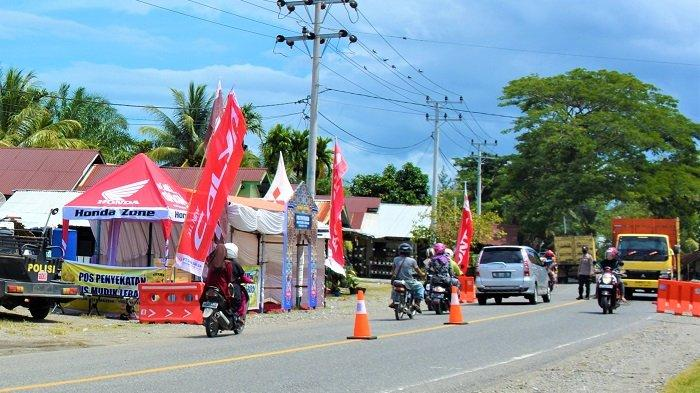 Wilayah Aglomerasi Berlaku, Semua Pos Penyekatan Jalur Mudik di Aceh Barat Dibongkar