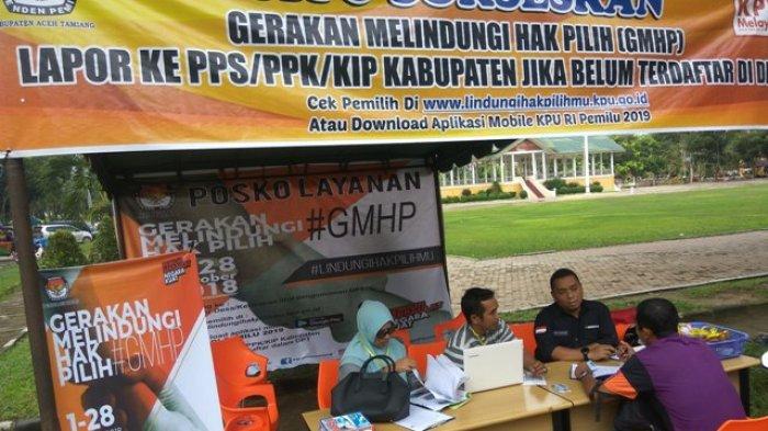 Sempurnakan DPT, KIP Tamiang Buka Posko GMHP