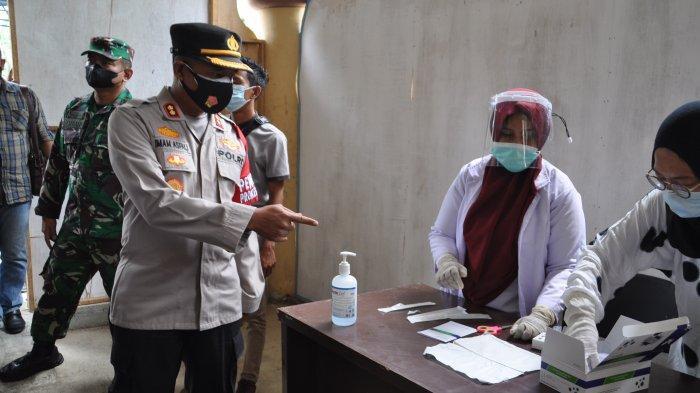 Polres Aceh Tamiang Kerahkan Dua Gerai Mobile Datangi Pelajar yang Ingin Divaksin