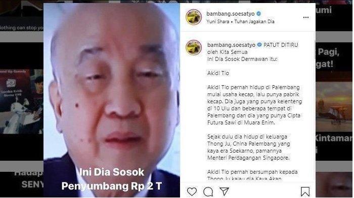 Penyumbang Rp 2 Triliun Asal Aceh Punya Saudara Orang Hebat di Singapura, Ketua MPR Ungkap Sosoknya