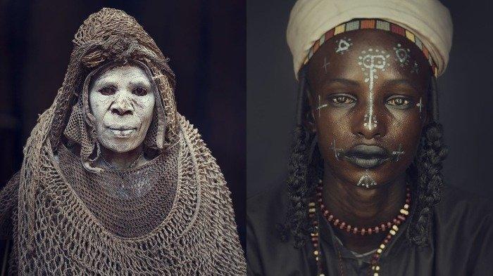 10 Potret Suku Paling Terisolasi di Dunia yang Diabadikan Fotografer Inggris, Intip Gaya Unik Mereka