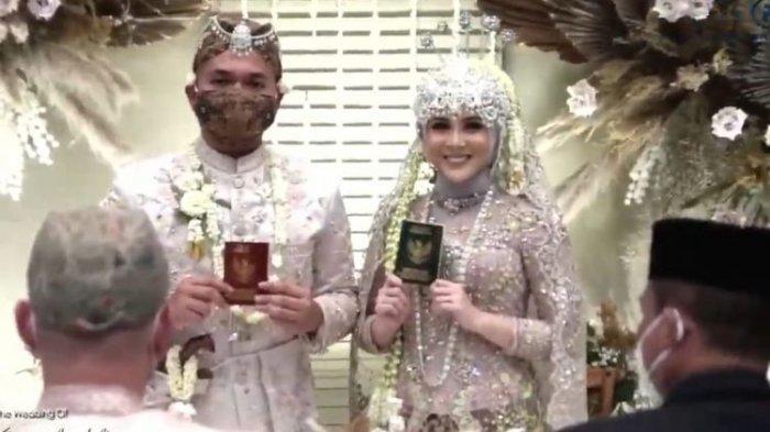 Kesha Ratuliu Menikah dengan Adhi Permana, Suaminya Bukan Orang Sembarangan