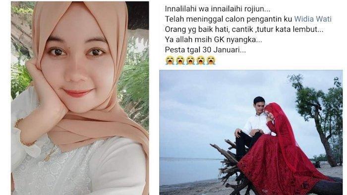 Widia Wati Tewas Jelang Nikah Akhir Januari, Korban Terjepit Lift saat Kerja, Calon Suami Terpukul