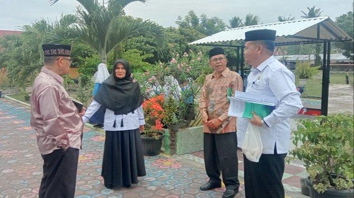 Tim PPM Kanwil Kemenag Aceh Tinjau MIN 50 Bireuen