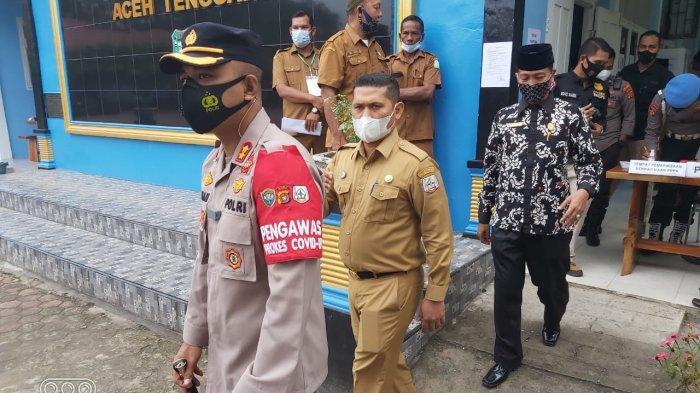 Ujian Seleksi PPPK di Aceh Tenggara, Dua Peserta tak Hadir, Kapolres dan Sekda Pantau Ujian