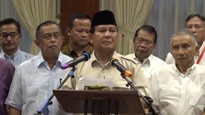 Prabowo Tolak Penghitungan Suara KPU, Begini Tanggapan TKN