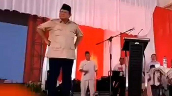 'Rahasianya' Tetap Tenang Jelang Debat Dibocorkan, Prabowo Subianto Tegur dan Tunjuk Ajudannya