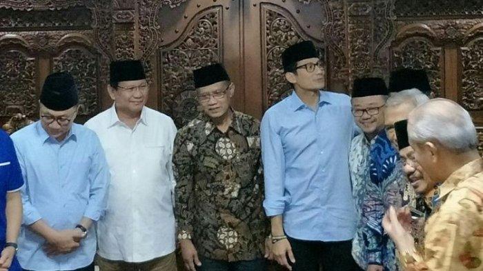 Ini Pesan yang Dititipkan Muhammadiyah Kepada Prabowo-Sandiaga Uno