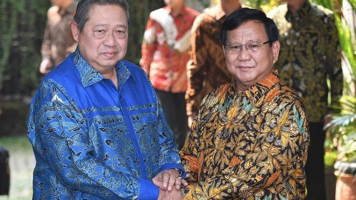 SBY Sepakat Jadikan AHY Cawapres Prabowo? Ini Tanggapan Gerindra