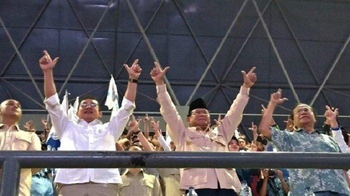 Hadiri Perayaan May Day di KSPI, Teriakan Prabowo Presiden Menggema