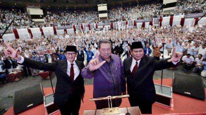 Prabowo-Sandiaga Kampanye Akbar di Stadion GBK, SBY Sempat Ingatkan Tak Tunjukkan Politik Identitas
