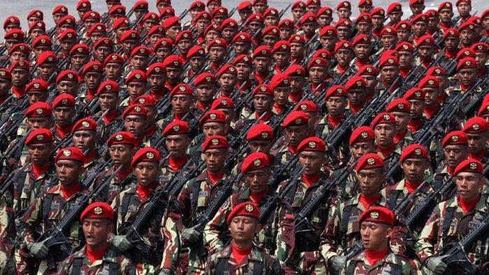 Siapkan Skenario Khusus Antisipasi Kerusuhan di KPU, TNI Terjunkan Pasukan Elite Sat Gultor