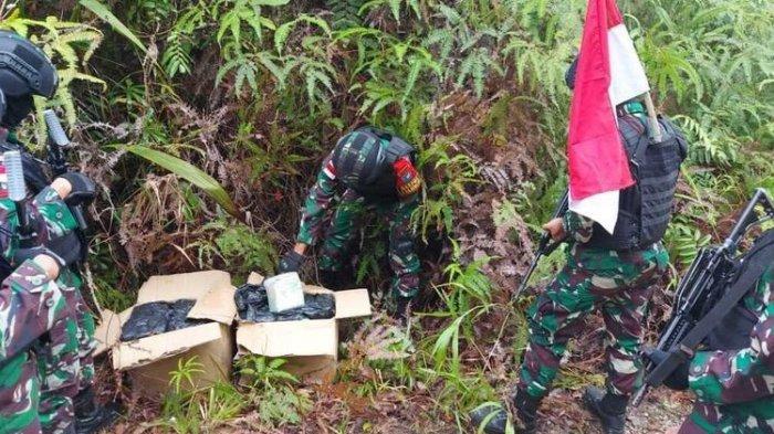 Prajurit TNI Temukan 10 Kilogram Sabu Tak Bertuan di Perbatasan RI-Malaysia, Sebelumnya 42,9 Kg Sabu