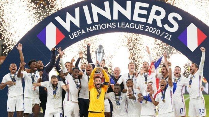 Kalahkan Spanyol, Perancis Juara UEFA Nations League 2021