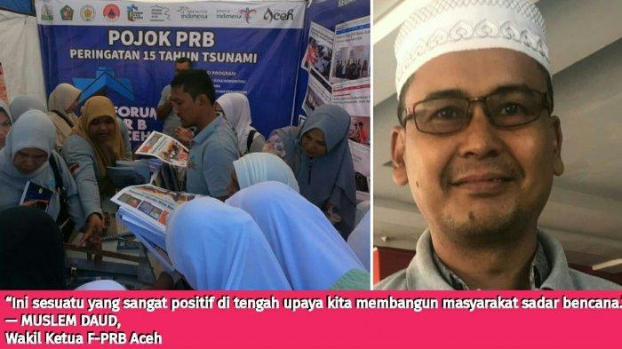 Masyarakat 'Serbu' Pojok PRB di Arena Peringatan 15 Tahun Tsunami, Ini Tanggapan Forum PRB Aceh