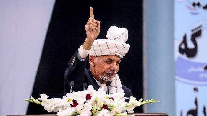 Presiden Afghanistan Ashraf Ghani Kabur ke Uni Emirat Arab, Bantah Bawa Rp 2,43 Triliun Kas Negara