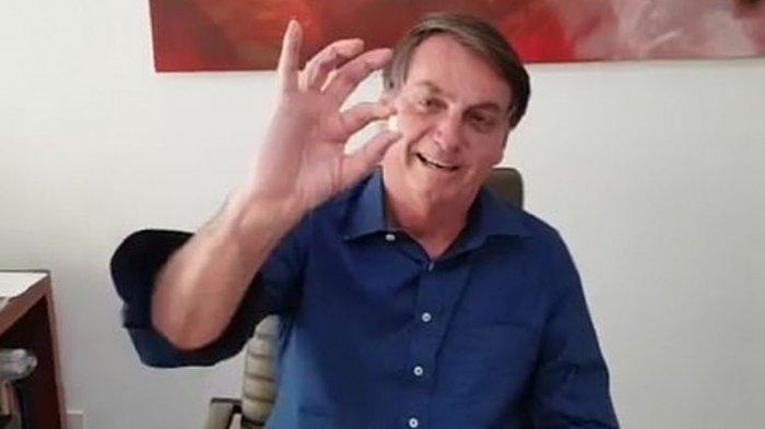 Minum Obat Anti Malaria Hidroksiklorokuin untuk Obati Covid-19, Presiden Brasil: Saya Baik-baik Saja