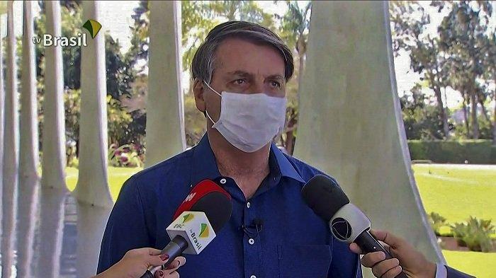 Presiden Brasil Positif Virus Corona, Abaikan Protokol Kesehatan
