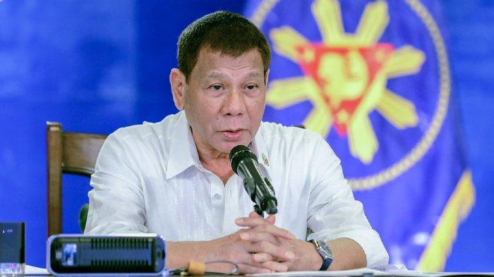 Rodrigo Duterte Diisukan Tewas Setelah 100 Pengawalnya Positif Covid-19, Tiba-tiba Muncul Lagi