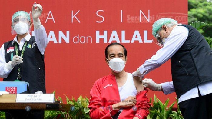 FOTO - Presiden Joko Widodo Terima Suntikan Dosis Kedua Vaksin Sinovac Covid-19 - presiden-joko-widodo-disuntik-dosis-kedua-vaksin-covid-19-2.jpg