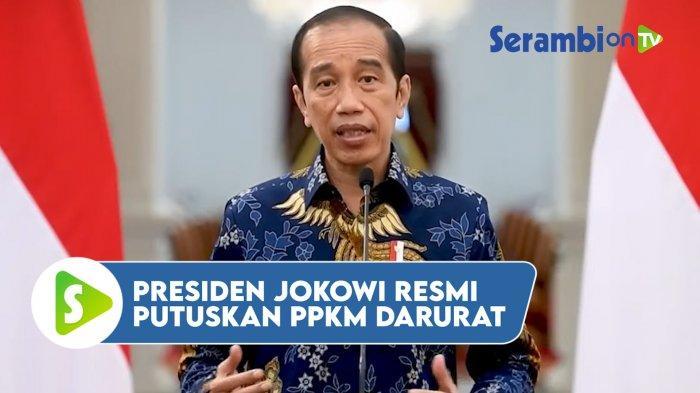 Jokowi Perpanjang PPKM Darurat Hingga Akhir Juli, Ini Arahan Untuk Mensos dan Menkes