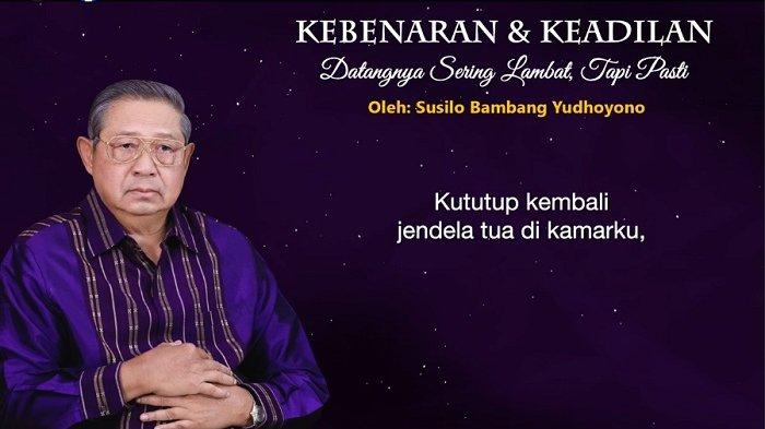 SBY Unggah Video Podcast, Ungkit Sahabat yang Melukai Orang-orang yang Setia