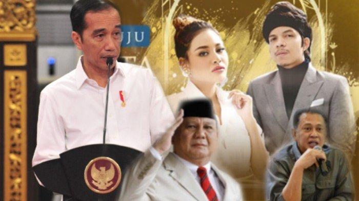 Jokowi, Prabowo, Hingga Bamsoet Dijadwalkan Hadir dan Jadi Saksi Pernikahan Atta Aurel Siang Ini