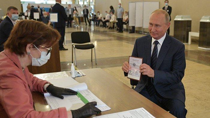 Presiden Rusia Sah Berkuasa Sampai 2036, Sampaikan Terima Kasih ke Rakyatnya