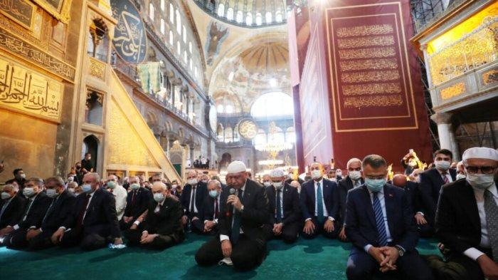 Yunani Sebut 24 Juli Sebagai Hari Berkabung Setelah Hagia Sophia Gelar Shalat Jumat
