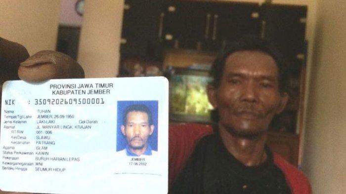 6 Pria Ini Bernama Tuhan, Masuk DPT Untuk Mencoblos di Jember Jawa Timur