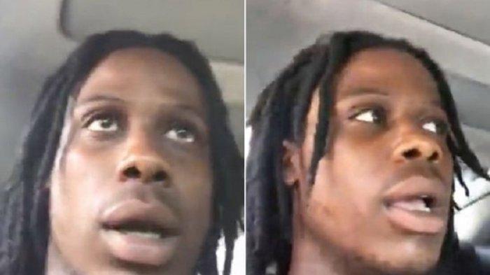 Pria Ini Siaran Langsung di Facebook Saat Dikejar Polisi, Mobilnya Hilang Kendali dan Tabrak Tiang
