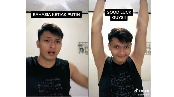 Pria Muda Ini Bagikan Rahasia Kulit Ketiak Putih Videonya Bikin Cewek Cewek Iri Serambi Indonesia