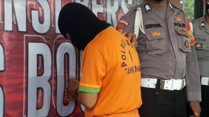 Pria yang Todong Senjata ke Kurir Pengiriman Barang Ditangkap, Kesal Tiga Kali Order Sandal Salah
