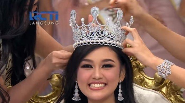 Sukses Jadi Jawara Miss Indonesia 2019, Ternyata Ini Jawaban Princess Megonondo Membuatnya Menang