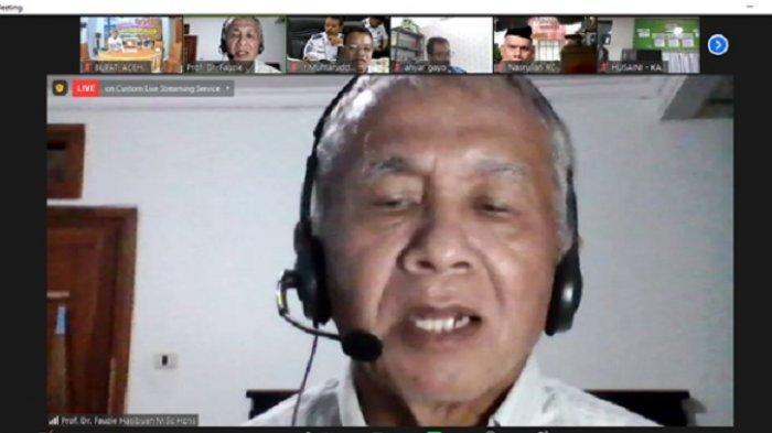 Geolog Prof Fauzi Hasibuan, Sumber Air Danau Laut Tawar dari Bener Meriah Mengalir dari Celah Batu