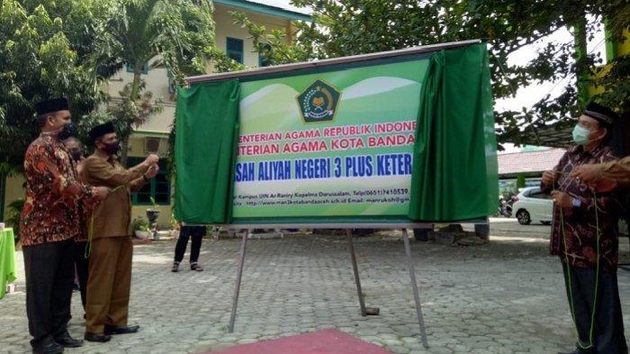 Man 3 Banda Aceh Launching Program Plus Keterampilan Siswa Kemenag Akan Terapkan Di Dayah Terpadu Serambi Indonesia
