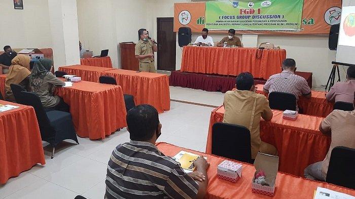 FKSDL Gelar FGD Pembahasan Rancangan Perwal Program Kampung Iklim di Langsa