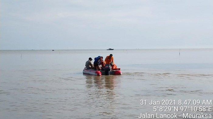 Penyelam tak Bisa Mencari Remaja Putri yang Diduga Tenggelam di Lancok Aceh Utara, Ini Kendalanya