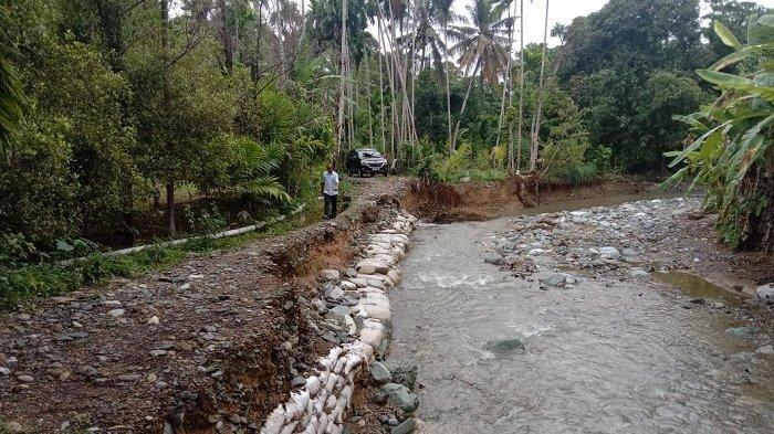 LIBAS: Proyek Jalan Produksi Tani di Samadua Diduga Asal Jadi